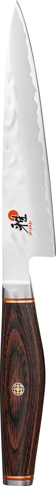 Miyabi 6000 MCT Shotoh Kuorimaveitsi 13 cm Ruostumaton Teräs Ruskea