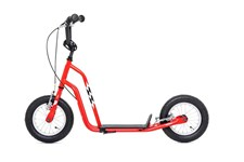 Yedoo Wzoom, Sparkesykkel med lufthjul, Rød