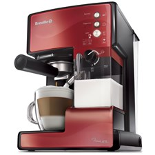 Breville Kaffemaskin Prima Latte Röd