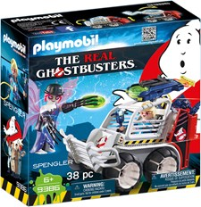 Spengler med fångtransport, Playmobil Ghostbusters (9386)