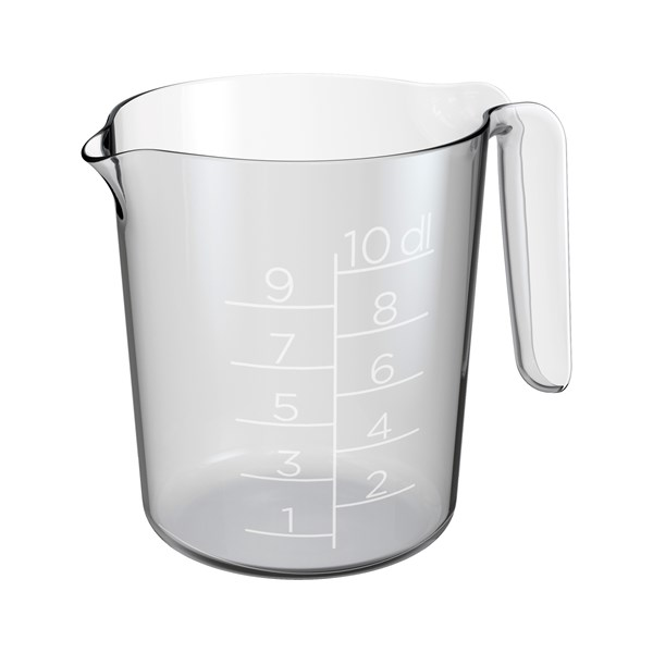 Gastromax Hushållsmått 1.0 L Transparent - julbak