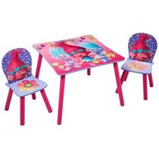 Möbelset, Bord & 2 stolar, Trolls