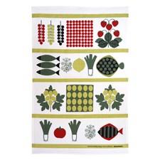 Kjøkkenhåndkle, Sommarmiddag, 47 x 70 cm, Multi, Almedahls