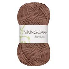 Bamboo Garn Bomullsmix 50 g Ljusbrun 619 Viking Garn