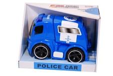 Polisbil 19 cm, Blå & Vit