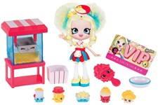 Shoppies docka, Popettes Popcorn stop, Shopkins