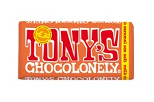 Tony´s Choklad Milk Chocolate Caramel Seasalt 180 g