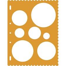 Schablon Cirkel 23x30,5 cm 1 st