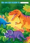 Dinosaurie godispåsar, 8 st