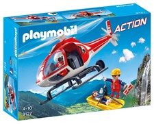 Fjällräddnings-helikopter, Playmobil Action (9127)