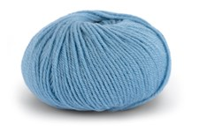 Knit At Home Classic SW Wool Ullgarn 50 g Lys Denimblå 413