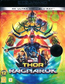 Thor 3: Ragnarök - 4K Ultra HD + Blu-ray (Ingen Sv. Text)