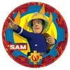 Brandman Sam tallrikar, 8 st
