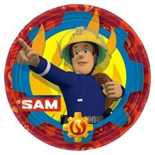 Brannmann Sam, Tallerkener, 8 stk.