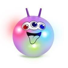 Blinkande Hoppboll 60 cm