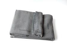 Semibasic COVER Överkast 245x260 cm Grey/Natural White