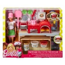 Pizzachef doll Playset, Barbie