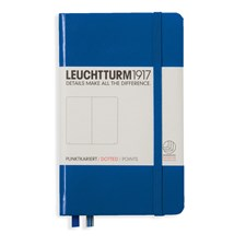 LT NOTEBOOK A6 Hard royal blue 185 p. dotted