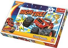 Maxi-puslespill, 24 brikker, Blaze og monstermaskinene, Trefl