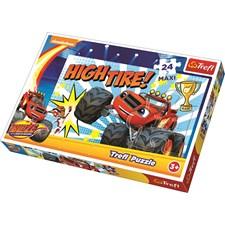 Maxi pussel 24 bitar, Blaze och Monstermaskinerna, Trefl