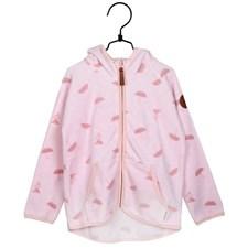 Paraplyer fleccejacka rosa strl 104, Mumin