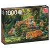 Tiger Family, Puslespill, 1000 brikker, Jumbo