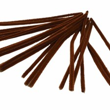 Piperensere, tykkelse 9 mm, L: 30 cm, 25 stk., brun