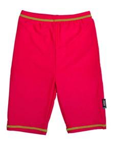 UV-shorts, Korallröd/Blommig, Swimpy, stl 98/104