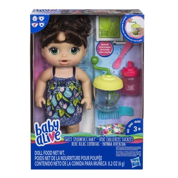 Sweet Spoonfuls Baby  brun  Baby Alive  Hasbro - dockor & tillbehör