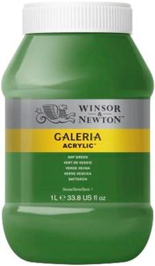 Galeria Akryl 1 liters 599 Sap Grønn