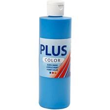 Plus Color-askartelumaali, 250 ml, kirkas sininen