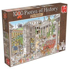 Rob Derk History Puzzle, The Romans, Pussel 1000 bitar