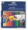 Akvarell Färgpennor Staedtler Noris Club 24-pack