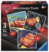 3 i 1 pussel, Disney Cars 3, Ravensburger