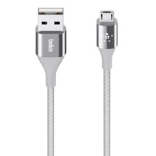 USB-Kabel Micro USB Premium Kevlar Belkin 1.2M/4FT Silver