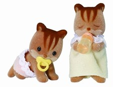Sylvanian Families ekornbaby, tvillinger