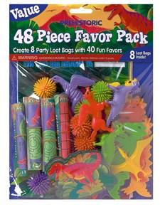 Gavepose til fiskedam, 48 deler, Dinosaurer