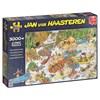 Jan van Haasteren, Wild water rafting, Pussel 3000 bitar