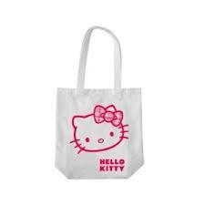 Tygkasse, Vit, Hello Kitty, Martinex