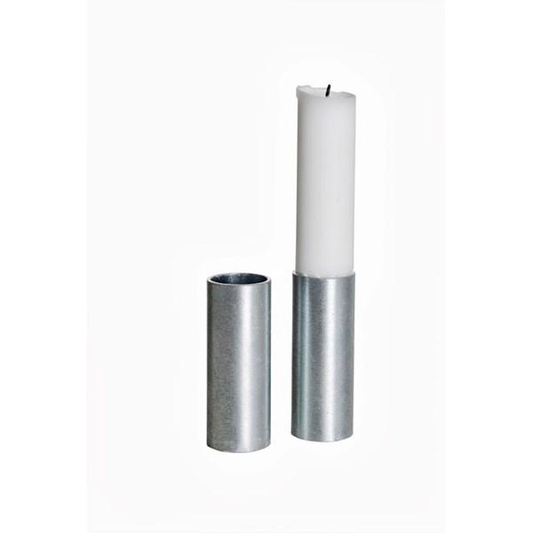 ERNST Ljusstump Hög2-pack Galvaniserad - ljusstakar & ljuslyktor