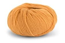 Knit At Home Classic SW Wool Garn Ullgarn 50 g Varm Gul 420