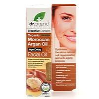 Dr Organic Moroccan Argan Oil Kasvoöljy, 30ml