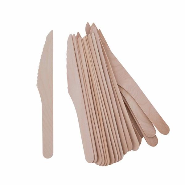 Bambu kertakäyttöveitsi 20 kpl