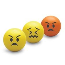 Stressboll Emoji 3-pack