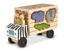 Safaribuss med djur, Melissa & Doug