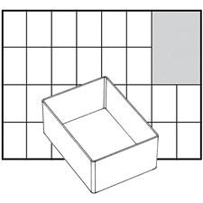 Raaco lådinsats, stl. 109x79 mm, H: 47 mm, 1 st.