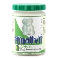 Minallvit Kalciumtablett Äpple, 60 tabletter