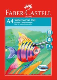 Akvarellblock Faber-Castell RedLine A4, 140 gr, 40 ark