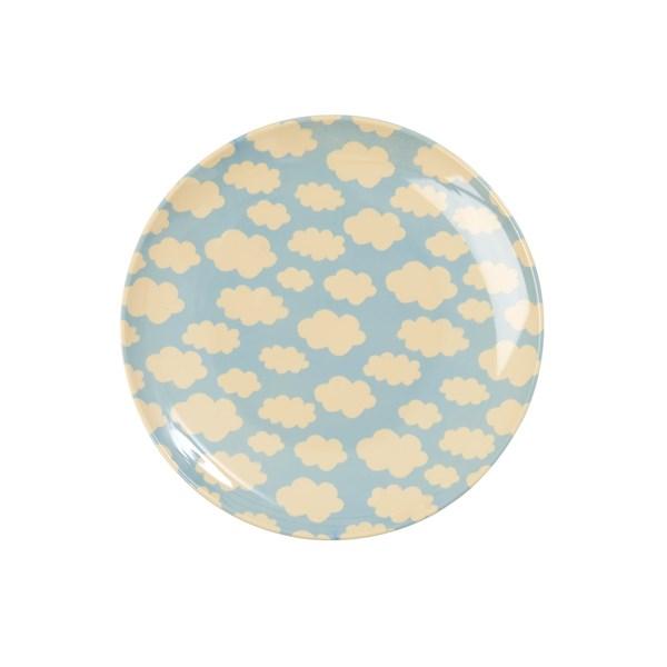 Rice Assiett D  16 5 cm Cloud Print - tallrikar & skålar