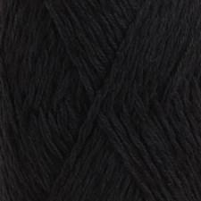 Drops Belle Uni Colour Garn Bomullmix 50g Black 08